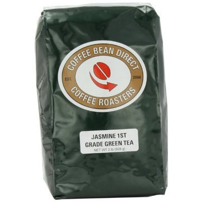 Coffee Bean Direct Jasmine Tea, 1St Grade, loose-tea-format, 2 Pound Bag