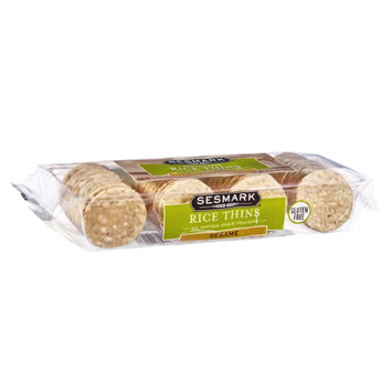Sesmark Rice Thins Sesame Snack Crackers