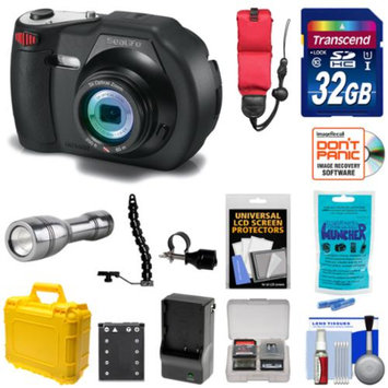 SeaLife DC1400 14MP HD Underwater Digital Camera with 32GB Card + LED Torch & Bracket + Waterproof Case + Kit