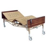 Drive Medical Full Electric Bariatric Hospital Bed, 600 pound limit, 1 ea