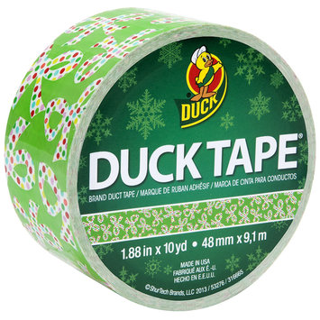 Shurtech ShurTech HDT-226 Holiday Duck Tape 1.88 in. x 10yd-Holiday Bows