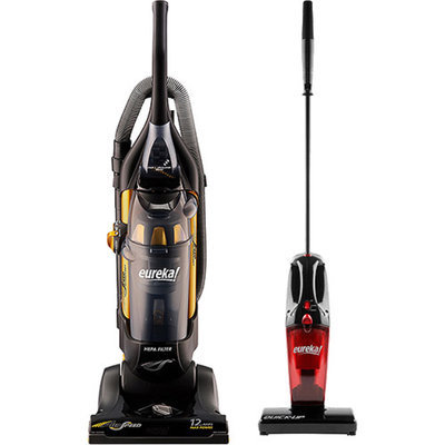 EUREKA Eureka AirSpeed Bagless Upright Vacuum with Your Choice of Bonus Stick/Handheld Vac