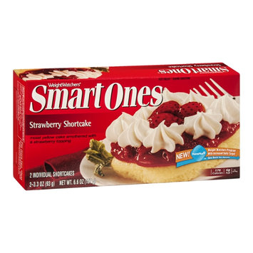 Weight Watchers Smart Ones Strawberry Shortcake - 2 CT