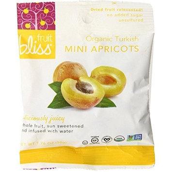Fruit Bliss DRIED APRICOTS, OG1, MINI, (Pack of 12)