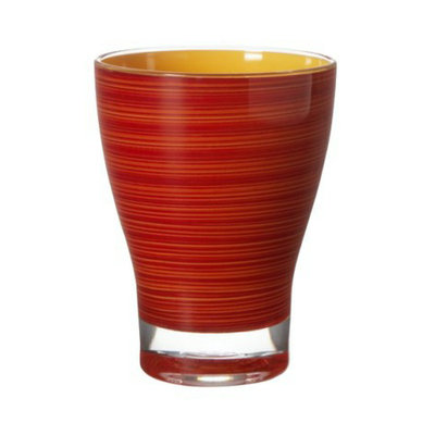 Diligence Inc Short Acrylic Tumblers Set of 4 - Red/Orange