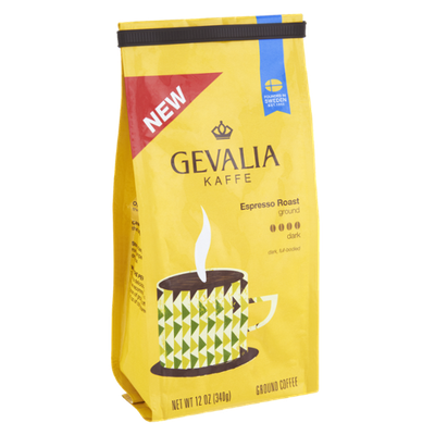 Gevalia Kaffee Espresso Roast Dark Ground Coffee