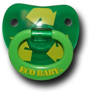 Billy Bob Teeth Billy Bob Eco Baby Pacifier - Recycle Green Toddler Child