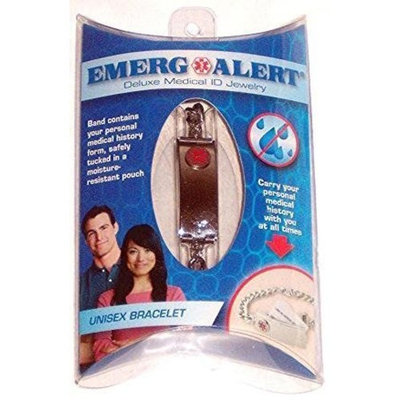 Apothecary Products, Inc. Emerg Alert Deluxe Medical ID Jewelry