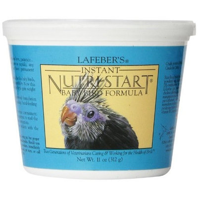 Lafebers Lafeber's Nutri-Start Hand feeding formula for Baby Birds 11-Ounce Tub