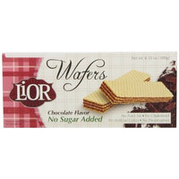 LiOR Sugar-Free Chocolate Wafers, 6.35-oz Boxes (Pack of 12)