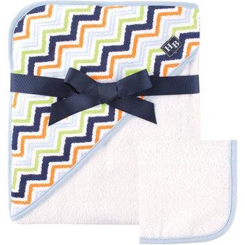 Baby Vision Hudson Baby Print Hooded Towel - Chevron
