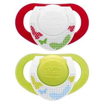 Chicco NaturalFit 2pk 4M+ Deco Orthondonic Pacifier - Neutral