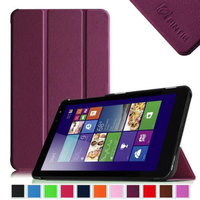 Fintie Slim Shell Case Lightweight Stand Cover For New Dell Venue 8 (2014 Version) 8-Inch Android Tablet, Purple