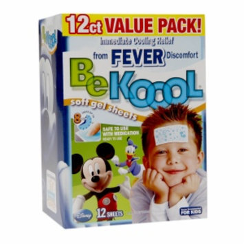 Be Koool Fever Relief Soft Gel Sheets