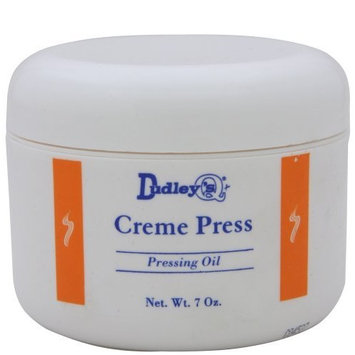 Dudley's Dudleys Creme Press Pressing Oil 7oz (w/Fancy Hair Pin)