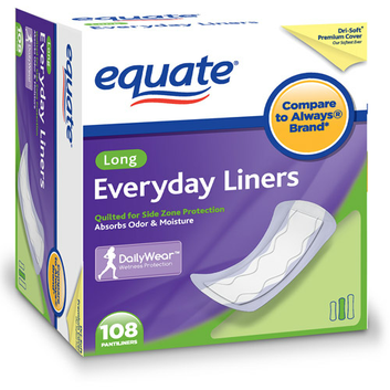 Equate Everyday Liners 108 Ct