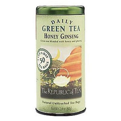 The Republic of Tea, Honey Ginseng Green Tea, 50-Count