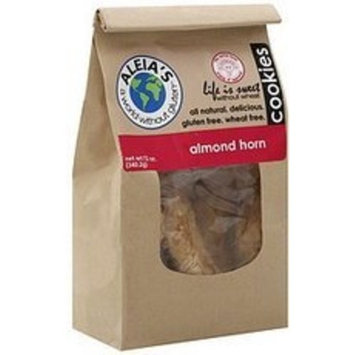 Aleia's Aleias Almond Horn Cookies, 9 Ounce -- 6 per case.