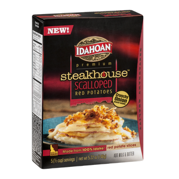 Idahoan Premium Steakhouse Scalloped Red Potatoes