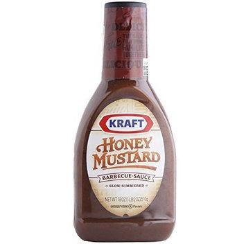 Kraft Brand Sauces and Marinades Kraft Honey Mustard Barbecue Sauce, 18 Ounce Bottle