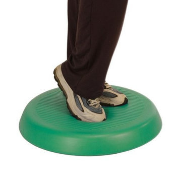 CanDo Aerobic Pad, Green, 20 Inch Diameter