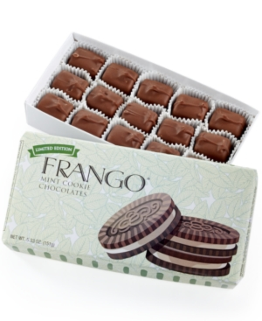 Frango Chocolates Frango 15-Pc. Limited Edition Mint Cookies & Cream Box of Chocolates
