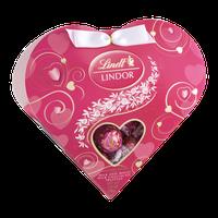 Lindt Lindor Valentine Milk and White Milk Chocolate Truffles