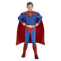Boy's Justice League Superman Muscle Chest - Medium