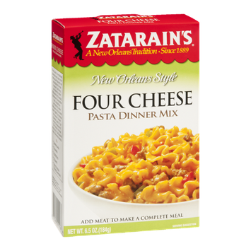 Zatarain's New Orleans Style Four Cheese Pasta Dinner Mix