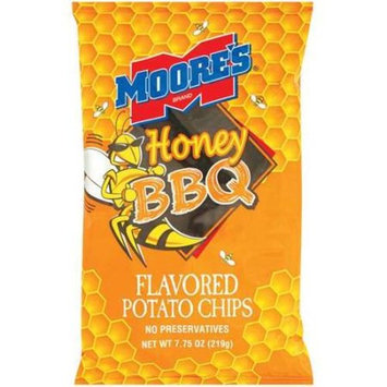 Moore's: Honey BBQ Potato Chips, 7.75 Oz