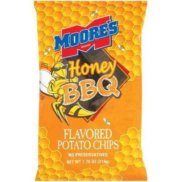 Moore's: Honey BBQ Potato Chips, 7.75 Oz
