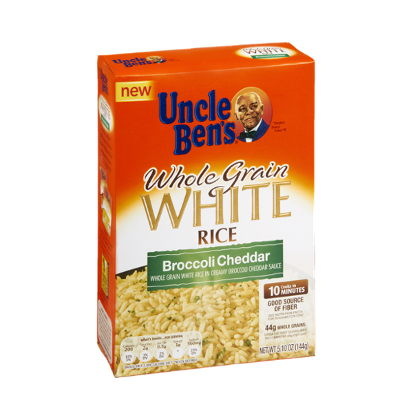 Uncle Ben's® Broccoli Cheddar Whole Grain White Rice