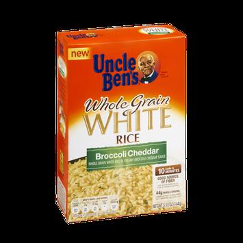 Uncle Ben's Broccoli Cheddar Whole Grain White Rice