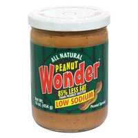 Peanut Wonder - Pnut Bttr Low Sodium (Pack of 6)