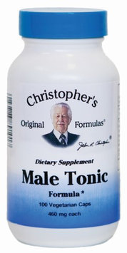 Male Tonic Formula 100 Caps from Dr. Christopher's Original Formulas