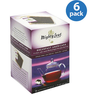 Mighty Leaf Tea Black Tea Whole Leaf Pouches
