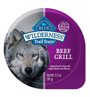 THE BLUE BUFFALO CO. BLUE™ Wilderness® Trail Trays™ Beef Grill For Adult Dogs