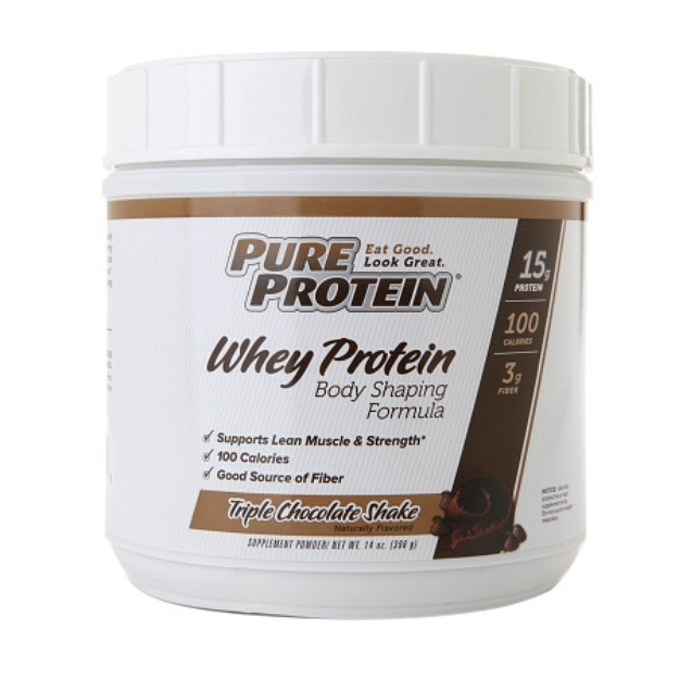 Jillian Michaels Natural Whey Protein Powder, 14 oz