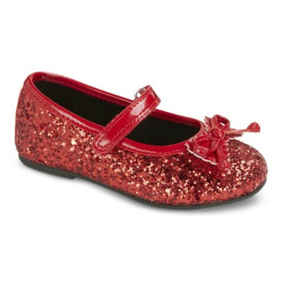 Toddler Girl's Rachel Shoes Lil Margie Mary Jane Shoes - Red 10