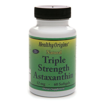 Healthy Origins Astaxanthin 12mg Triple Strength