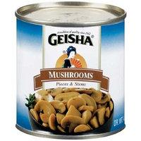 Geisha Mushrooms Pieces & Stems - 24 Pack