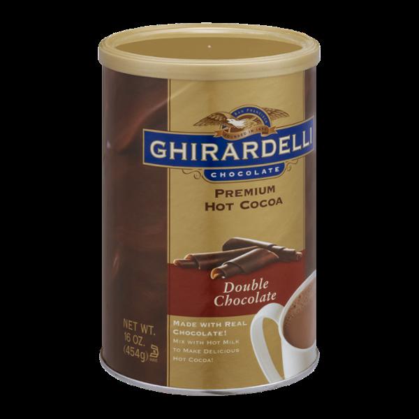 Ghirardelli Chocolate Premium Hot Cocoa, Double Chocolate