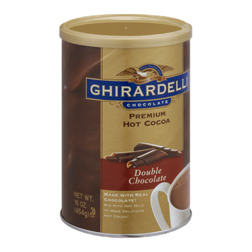 Ghirardelli Chocolate Premium Hot Cocoa, Double Chocolate