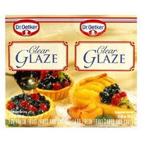 Dr. Oetker Cake Glaze, Clear, 0.7-Ounce Unit (Pack of 30)