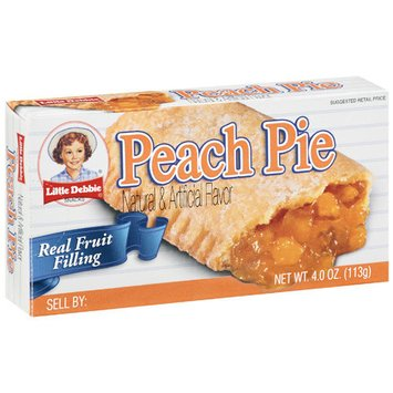 Little Debbie Snacks Little Debbie Peach Pie, 4 oz