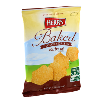 Herr's Baked Potato Crisps Barbecue Flavored