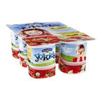 Stonyfield Organic Yokids Organic Lowfat Yogurt Strawberry & Banana Strawberry - 6 CT