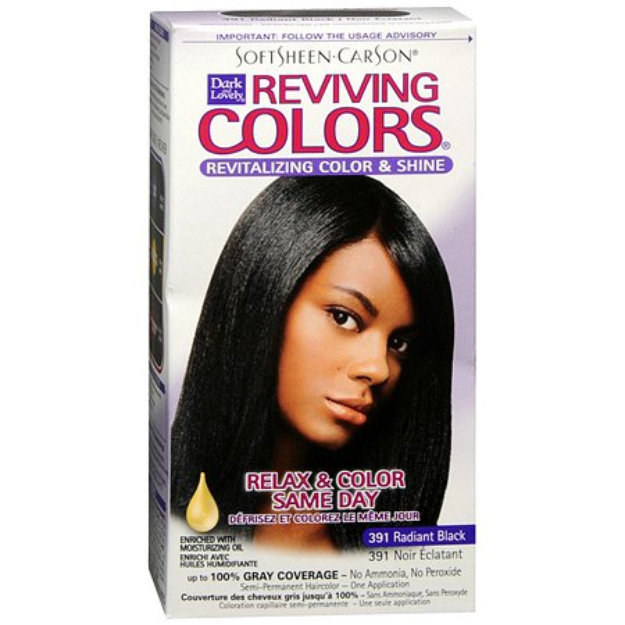 Dark And Lovely Relax Color Same Day Semi Permanent Haircolor Reviews