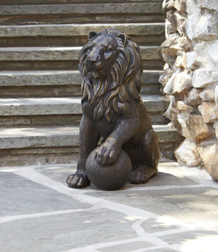 Group LLC 17/21 GROUP LLC 27in Lion Statue - 17/21 GROUP LLC