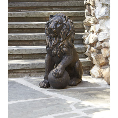 Group LLC 17/21 GROUP LLC 27in Lion Statue - 17/21 GROUP LLC